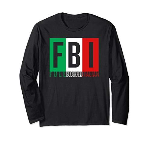 Full Blooded Italian T-shirt Halloween Christmas Funny Cool ()