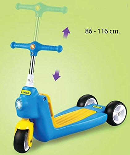 Patinete correpasillos convertible 2 en 1. Capacidad 40 kg ...