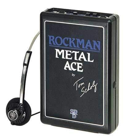 Dunlop MA Rockman Metal Ace (Headphone Metal Amp Ace)
