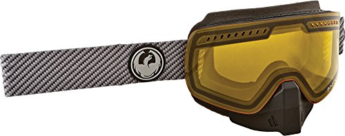 Dragon Alliance Unisex Boost NFXS Snowmobile Goggles Eyewear, Polycarbonate Yellow, One Size by Dragon Alliance