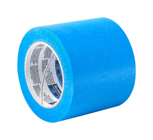 TapeCase 2090 Long-Mask Masking Tape Converted from 3M 2090-5 in. x 180 ft. Masking Tape Roll for Medium Adhesion. Painting Wall Preparation