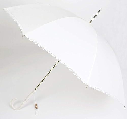 Paraguas de Novia de la Marca VOGUE. Color Marfil y con Ribete de Encaje.