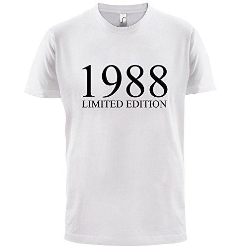 1988 Limierte Auflage / Limited Edition - 29. Geburtstag - Herren T-Shirt - Weiß - XXXL