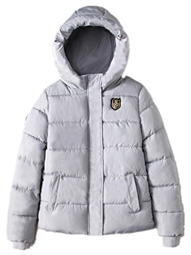Women's Down Grey Coat Women's HAOKTY HAOKTY EqtwBY0