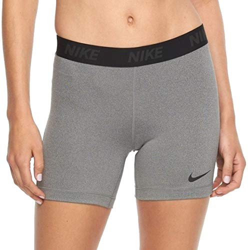 Nike Compression 5'' Shorts Grey/Black Size Medium by Nike
