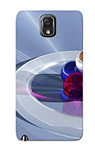 Kathewade Glgjui-7-bziqokz Case For Galaxy Note 3 With Nice Glass Spheres In A Ring Appearance