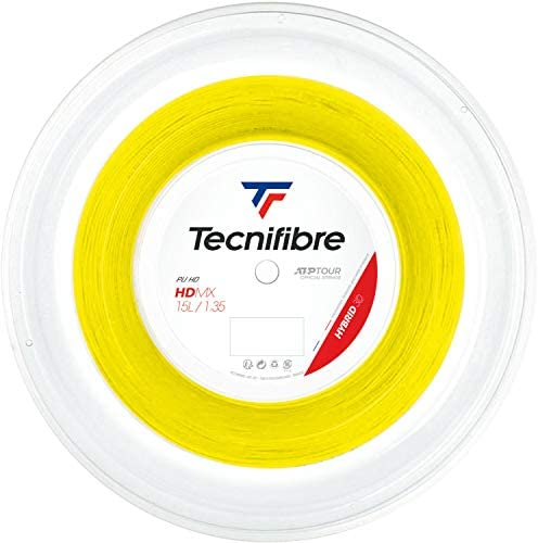 テクニファイバー(Tecnifibre) 硬式テニス ガット エイチデーエムエックス 200mロール イエロー 1.35mm TFR307