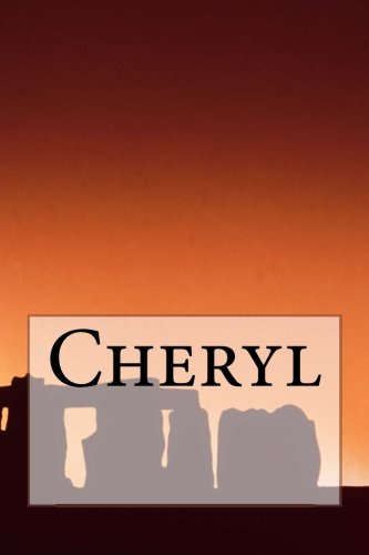 Cheryl: A 6 X 9 Lined Journal For Creativity