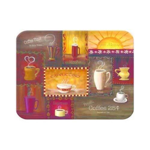 Tuftop Coffee Time Cutting Board Size: Medium (12