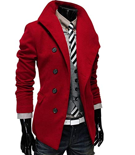 Winter Jacket Jacket Elegant Men Huixin Autumn Wool Coat Men Stand Coat Parka Winter Winter Trench Coat Apparel Mens Coat Jacket Rot Collar SXwOYBxqO