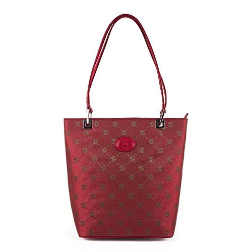Luigi 81425 - Bolso al hombro de sintético mujer rojo - rojo