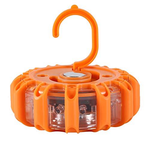 Roadside Waarschuwingslicht, Oranje Road Emergency Light Ingebouwde Licht Duurzaam Gemaakt van Tpr+Pc