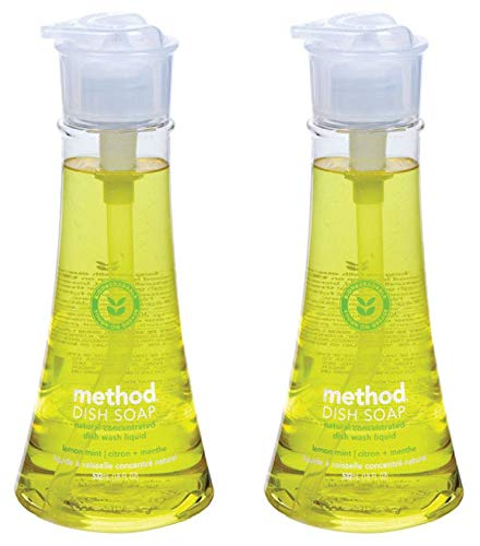 - Method Dish Soap, Lemon Mint - 18 fl oz pump bottle