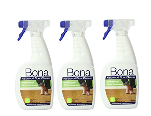 Hardwood Floor Cleaner 32 oz (Pack of 3) - Bona Kemi Hardwood Floor Mop
