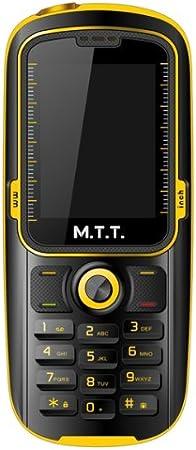 MTT Waterproof - Teléfono móvil libre (GSM/Bibanda, GPRS ...
