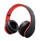 Cuitan Wireless Bluetooth Headphones V3.0/Wired 3.5mm Plug Headband Over-Ear Built-in Microphone FM Radio Earphone...