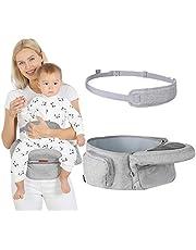 Lictin Baby höftsits lätt midjepall 5 justerbara vinkelinställningar – höftsits baby med säkerhetsbälte skydd – småbarn bärare ergonomisk höftsits baby för 6–36 månader barn