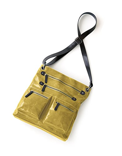 (Shiraleah Harper Cross-Body Daypack, Mustard)