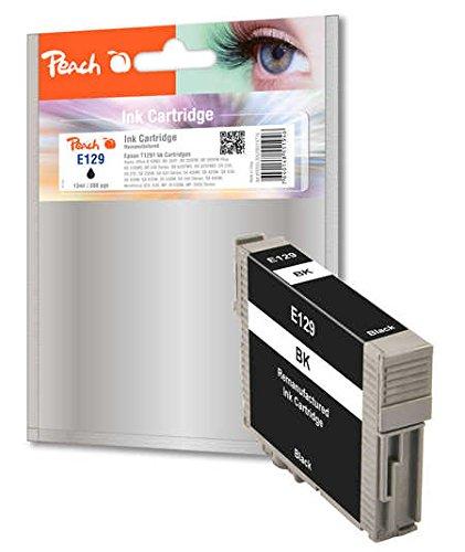 Cartucho de Tinta Negra de Peach Compatible con Epson T1291 ...