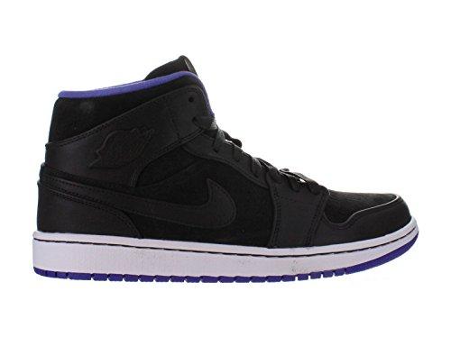 Nike Air Jordan 1 Mid Noir Nouveau Chaussures Pour Hommes Noir Mid   Dark c49564