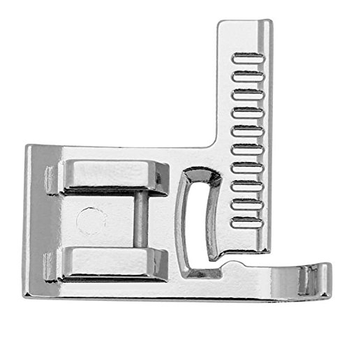 YEQIN Sewing Machine Stitch Guide Foot SA160 For Brother Singer,Kenmore,New Home,Babylock,White