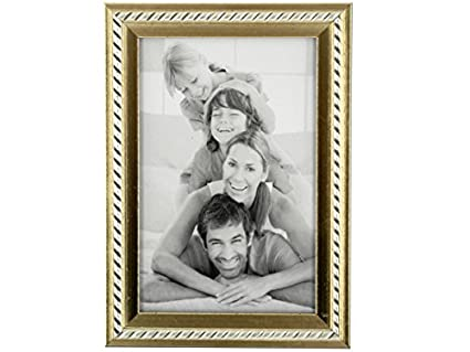 Buy bulk buys PF033 Small Decorative Silver & Gold Photo Frame ...