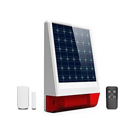 Kit Alarma Solar GSM, SIN CUOTAS