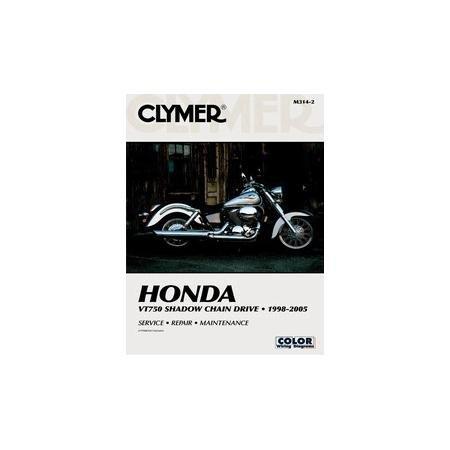 01-06 HONDA VT750DC: Clymer Service Manual ()