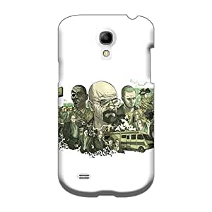 Shockproof Hard Phone Cover For Samsung Galaxy S4 Mini (IjV16714APwm) Support Personal Customs Attractive Breaking Bad Centered Skin