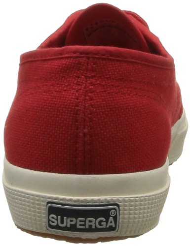 975 2750 Classic Superga cotu Adulte Baskets Red Mixte Rouge 0xdnvnZ