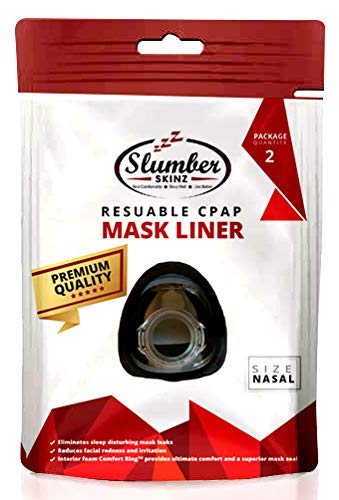 Reusable CPAP Liners (Nasal Masks) by Slumber Skinz - (2 Pack)