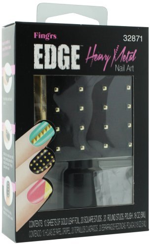 - Fing'rs Edge Heavy Metal Nail Art Kit # 32871 by Fing'rs