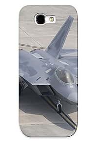 New Premium TsPbKUB1436qxnGo Case Cover For Galaxy Note 2/ Lockheed Martin F22 Raptor Protective Case Cover