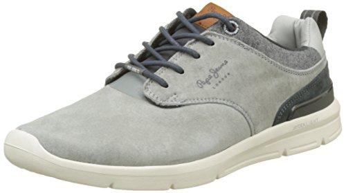 Pepe Jeans Herren Jayden 2.1 Essentials Sneaker Grau (grijs)