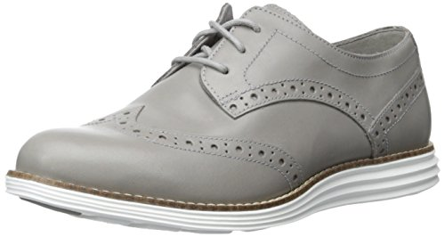 Cole Haan Women's Original Grand WTIP Oxford, Ironstone/Optic White, 8 B US ORIGINAL GRAND WTIP