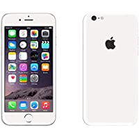 GADGETS WRAP Apple iPhone 6/6s Jet White Glossy Skin for Front & Back A8A03