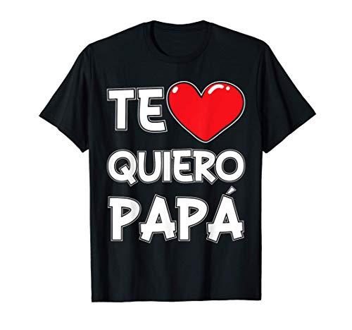 Te Quiero Papa Regalo De Cumpleanos Para El Padre Cami