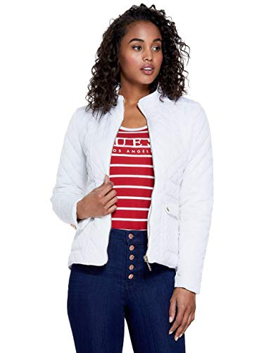GUESS Factory Women's Barrett Puffer - Guess White Jacket