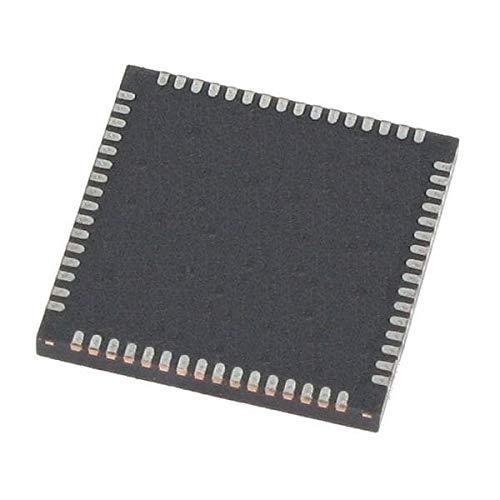 Digital Signal Processors & Controllers - DSP, DSC 16 Bit 5V DSC 128KB ECC Flash, 8KB RAM Pack of 10 (dsPIC33EV128GM006-E/MR)