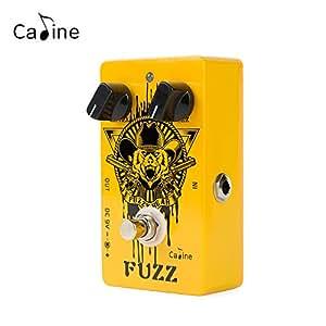 caline fuzz bear guitar effects pedal multieffects pedals metal true bypass orange. Black Bedroom Furniture Sets. Home Design Ideas
