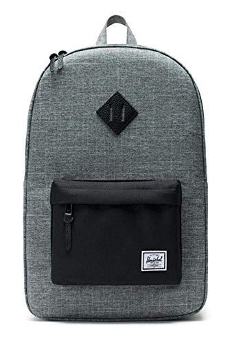 Herschel Supply Co. Heritage Backpack - One Size (RXB) Raven Crosshatch/Black