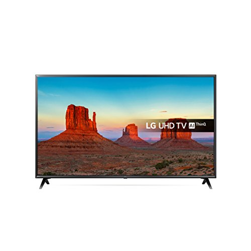 LG 43UK6300PLB 43-Inch UHD 4K HDR Smart LED TV with Freeview Play - Black...