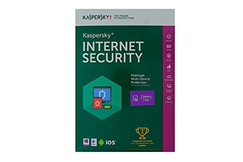Kaspersky Internet Security - 1 Device, 1 Year