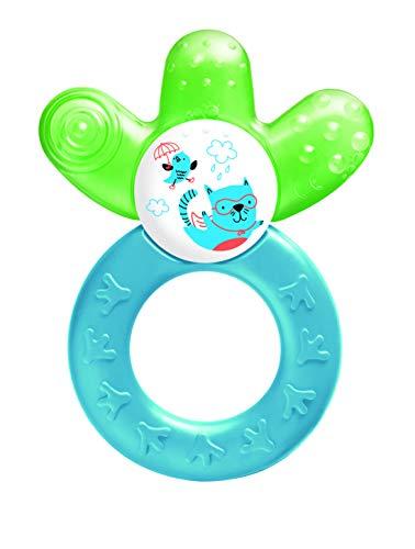 Mam, anillo de dentición refrescante, cuatro meses, colores surtidos 2