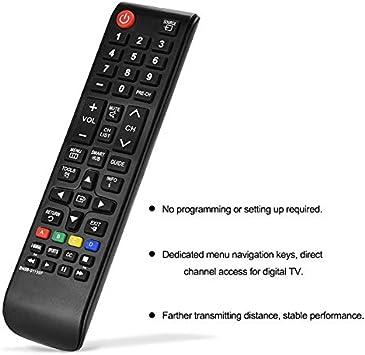 Samsung - Mando a Distancia Universal para televisor Samsung 3D LCD/LED/Plasma (Repuesto Directo para Todos los televisores Samsung 2008-2019) Compact: Amazon.es: Electrónica