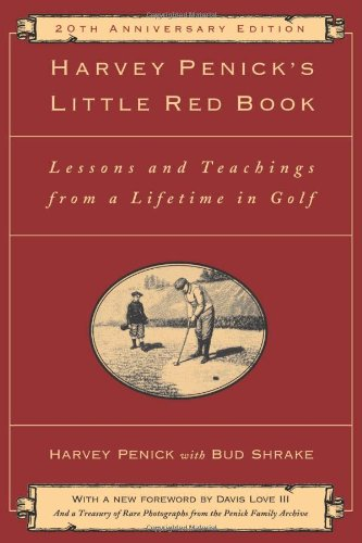 Harvey Penick's Little Red Book: Lessons And Teachings From A Lifetime In Golf from Golf Gifts & Gallery