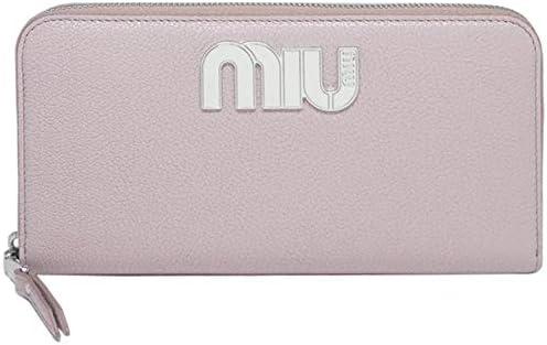 MIU MIU(ミュウミュウ)『MADRASラウンドファスナー長財布(5ML506 2BSO F0880)』