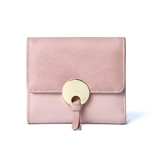 Kampf Borse Donna Moda Originali Mini Borsa Clutch Ripiegabili Giornaliero Pochette Moderni Kawaii Elegante Borse Tote (Rosso) Rosa