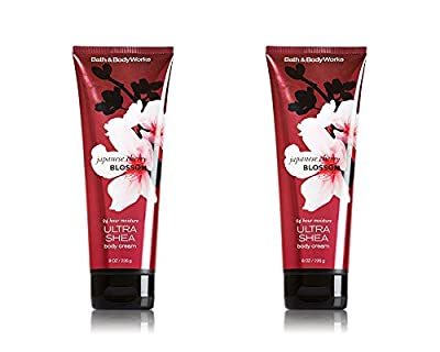Bath and Body Works Japanese Cherry Blossom 24 Hour Moisture Ultra Shea Body Cream