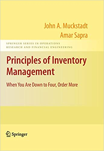Principles of Inventory Management: When You Are Down to